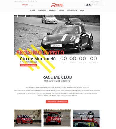 pagina web racemeclub